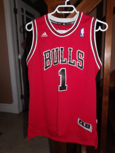 Chicago Bulls Derrick Rose 1 youth basketball jersey