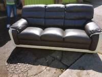 3 seater sofa x 2