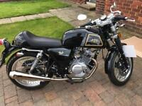 125 cc AJS Cadwell Cafe Racer - 66 Plate only 180 miles