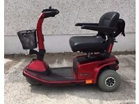 Pride Celebrity X4 Mid size 3 Wheel Pavement Mobility Scooter