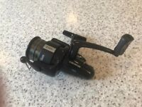 Abu Garcia Sweden Cardinal Black Max Spinning Fishing Reel with 2 x spare spools