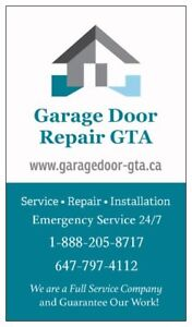 Garage Door Repair King City 647-797-4112