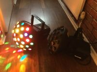 DJ/DISCO LIGHTS. £60