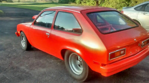1976 Chevette Pro-Street/Drag Trade pontoon/fishing boat or ?