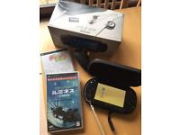 PSP 1000 With Carry Case And Two Games