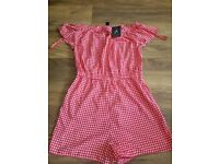 **NEW WITH TAGS** Ladies playsuit size 12