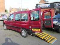 Peugeot partner wheelchair accessible, disabled access WAV