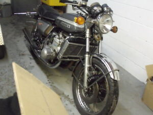 Suzuki GT750 Water Buffalo project rare Vintage bike