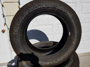 Set of 4 Goodyear Wrangler HP 20's