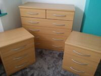 Large Chester & Two Side Chester Drawers
