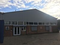 WAREHOUSE TO RENT HARLOW, ESSEX 3421 SQ FT WITH 1240 SQ FT MEZZANINE AND PARKING MOTOR TRADE WELCOME