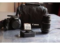 DSLR camera + lenses + accessories