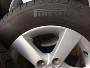 4 summer tires with mag 195/65/15(5x114.3)