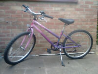 Girl's bicycle in Pink