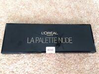 L'Oréal Eye shadow palette & contour sculpting palette