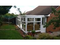 Pre-owned UPVC conservatory in a good condition £399 - available between 4th -6th August