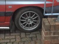 "4x108 oz racing alloys 15"" Ford Citroen Peugeot dturbo berlingo partner etc"