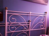 Vintage double bed frame