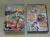 2 postman Pat DVD's
