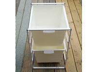 IKEA Antonius Storage Unit + Plastic Baskets - Warehouse Garage Wardrobe Rack Drawers