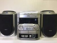 Philips fw c80 hi-fi system and stereo