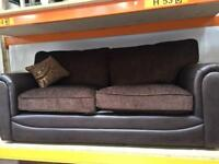 3 seater sofa with cushion ( new )