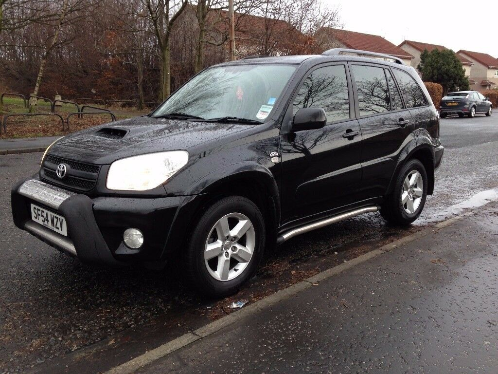 2005 toyota rav 4 xt3 2 0l diesel black 4x4 d 4d spec in. Black Bedroom Furniture Sets. Home Design Ideas