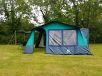 LICHFIELD 7 DELUXE FRAME TENT. NOT TRAILER TENT, CARAVAN AWNING CAMPER VAN OR MOTORHOME AWNING.