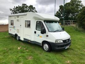 2004 FIAT DUCATO CHAUSSON ODYSSEE-78 *FIXED BED* DIESEL MOTORHOME