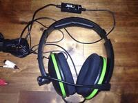Xbox 360 gaming headset.