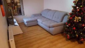 MELLOW Relaxation and comfort brand new corner Sofa bed Leather or Fabric Delivery 1-10 days