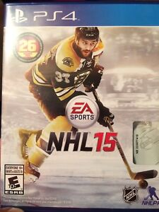 NHL 15 for PS4.