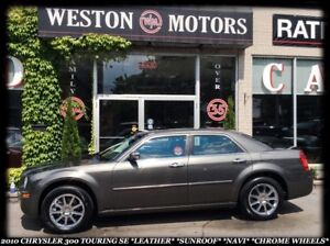 2010 Chrysler 300 TOURING* LEATHER* SUNROOF* NAVI* CHROME WHEELS