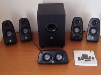 Logitech Z506 surround speakers