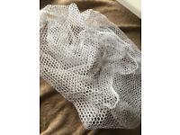 Cat net for Moses basket and pram