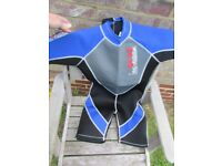 Wet suits for sale - suitable for children and one for small lady.
