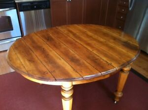 Unique Antique Oval Table
