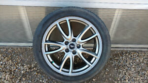 MUSTANG 275/40ZR19 TIRES AND RIMS