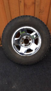 Ford F150 rims and snow tires