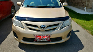 2011 Toyota Corolla w.168k km. Auto. No accidents and certified.