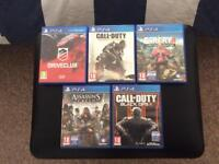 LOOKING TO SWAP PS4 GAMES OR SELL (read description)