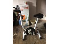 Body Train exercise bike never used white and black