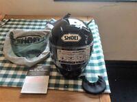 shoei x spirit 2 size medium gloss black.