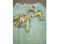 Brass sink basin taps selling for 15.00