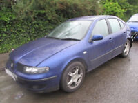 2003 SEAT LEON 1.8 20V BREAKING FOR PARTS