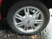 1998 Fiesta Zetec Alloy with 185/55/40 tyre