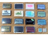 17 New Various Colour Pigment Ink Pads