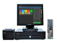 "17"" Touchscreen Dell Optiplex EPOS POS Cash Register Till System Retail and Hospitality Businesses"