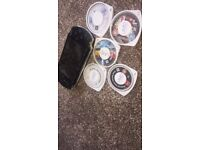 PSP, comes with 4games and 1 movie, no box only charged
