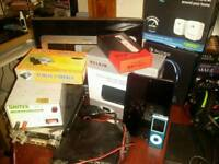 Electrical iterms ideal for car boot sale